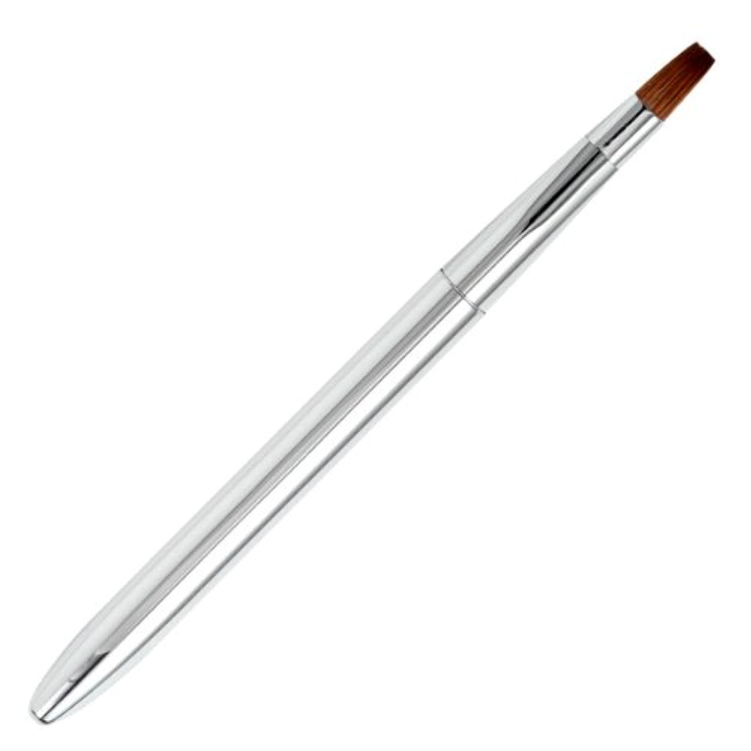 レンダリング言い直すサイレント広島熊野筆 オートリップブラシ 毛質 イタチ L-1