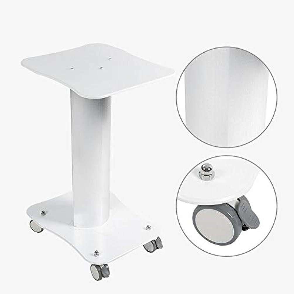 重くするせっかち同意美容院のトロリー台の圧延のカートの車輪のアルミニウム立場