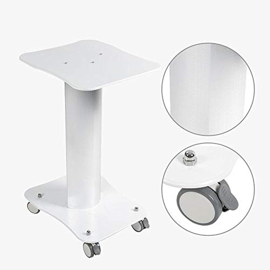 似ているヘロイン理容室美容院のトロリー台の圧延のカートの車輪のアルミニウム立場
