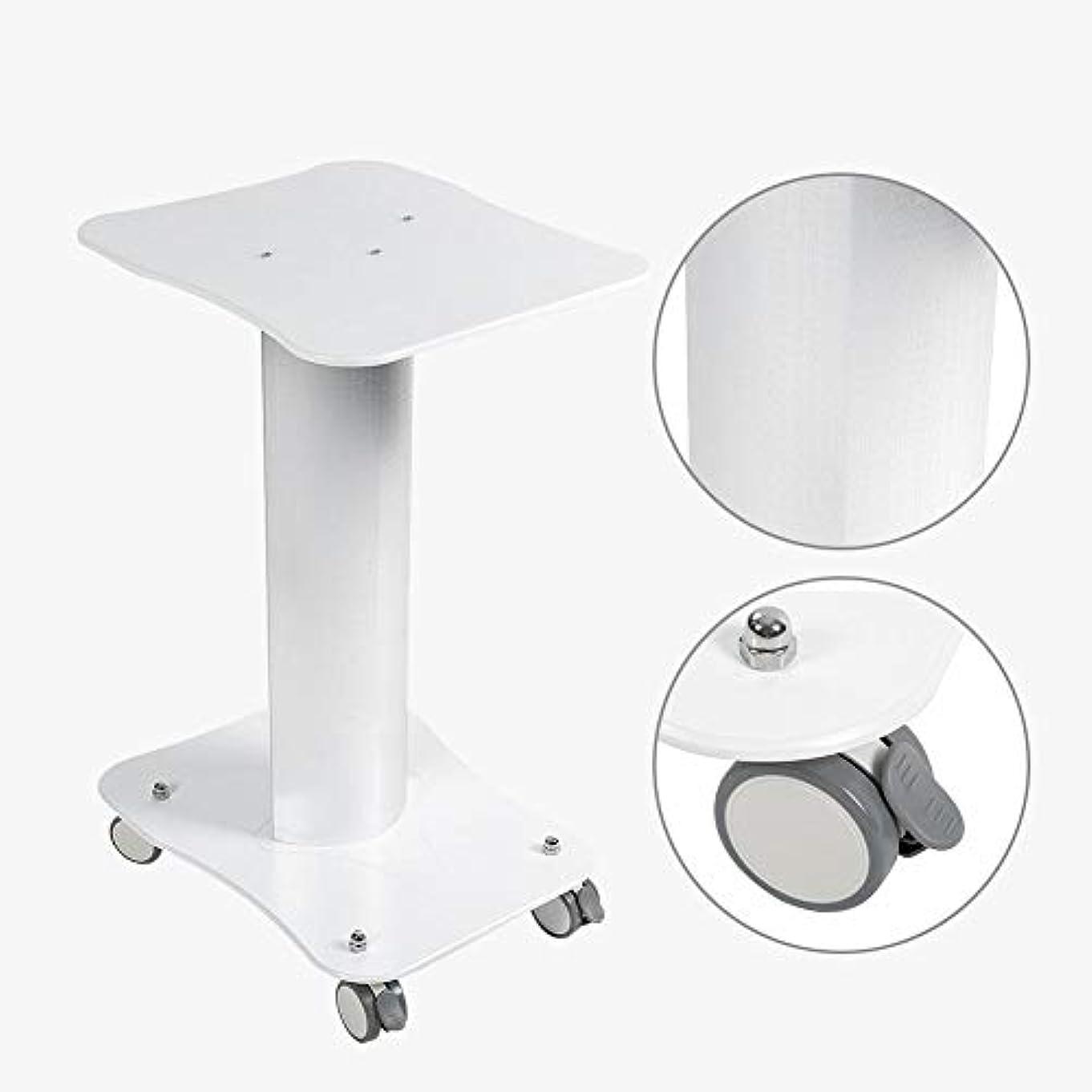 美容院のトロリー台の圧延のカートの車輪のアルミニウム立場