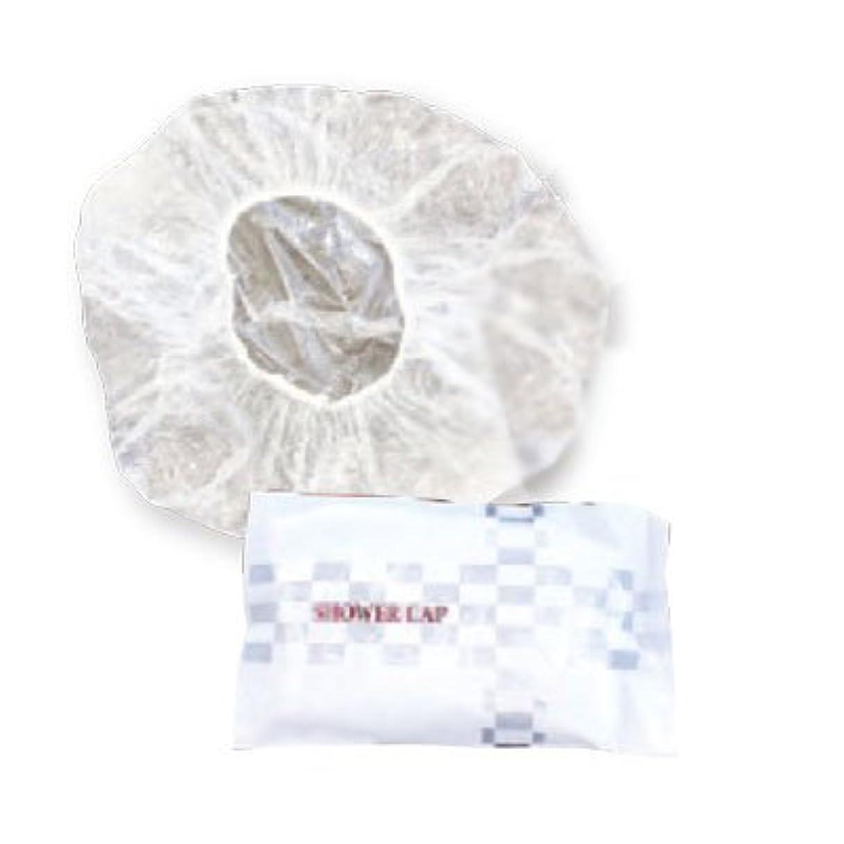 麻酔薬複雑なドレス(ロータス)LOTUS シャワーキャップ 100枚入 (個包装 業務用)