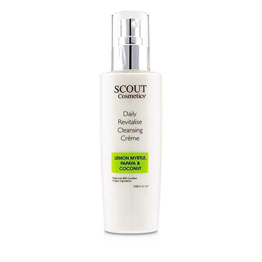 虹機動知るSCOUT Cosmetics Daily Revitalise Cleansing Creme with Lemon Myrtle, Papaya & Coconut 150ml/5.1oz並行輸入品