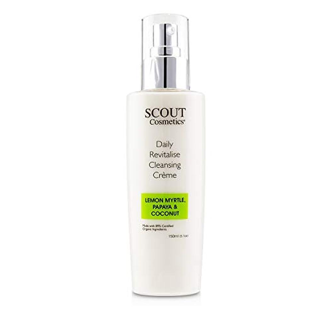 SCOUT Cosmetics Daily Revitalise Cleansing Creme with Lemon Myrtle, Papaya & Coconut 150ml/5.1oz並行輸入品