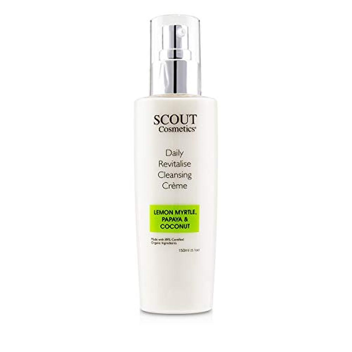 ハプニングケント細胞SCOUT Cosmetics Daily Revitalise Cleansing Creme with Lemon Myrtle, Papaya & Coconut 150ml/5.1oz並行輸入品
