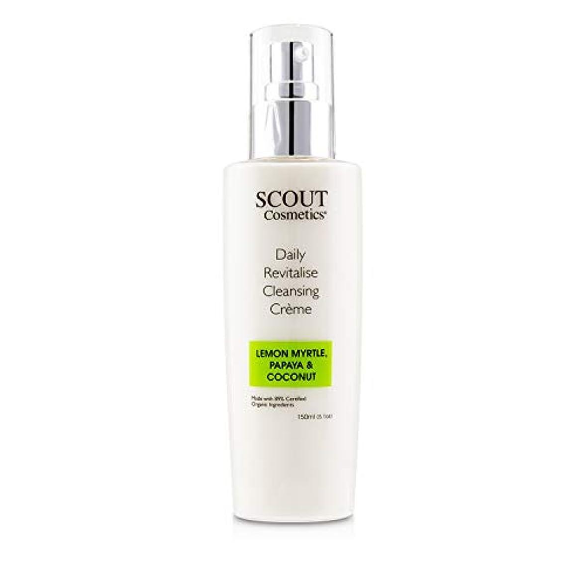 ヒット小切手急降下SCOUT Cosmetics Daily Revitalise Cleansing Creme with Lemon Myrtle, Papaya & Coconut 150ml/5.1oz並行輸入品