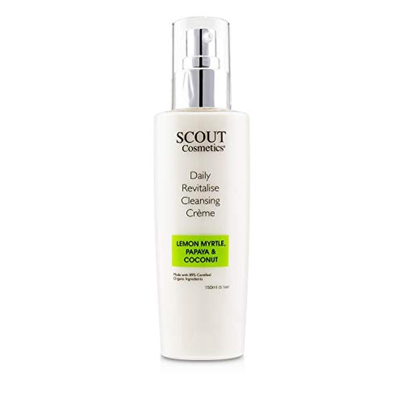 先祖溝アーネストシャクルトンSCOUT Cosmetics Daily Revitalise Cleansing Creme with Lemon Myrtle, Papaya & Coconut 150ml/5.1oz並行輸入品