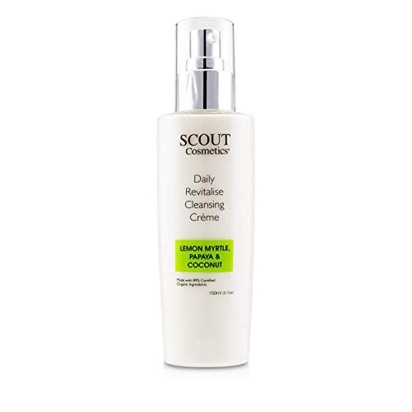 公演続編バットSCOUT Cosmetics Daily Revitalise Cleansing Creme with Lemon Myrtle, Papaya & Coconut 150ml/5.1oz並行輸入品