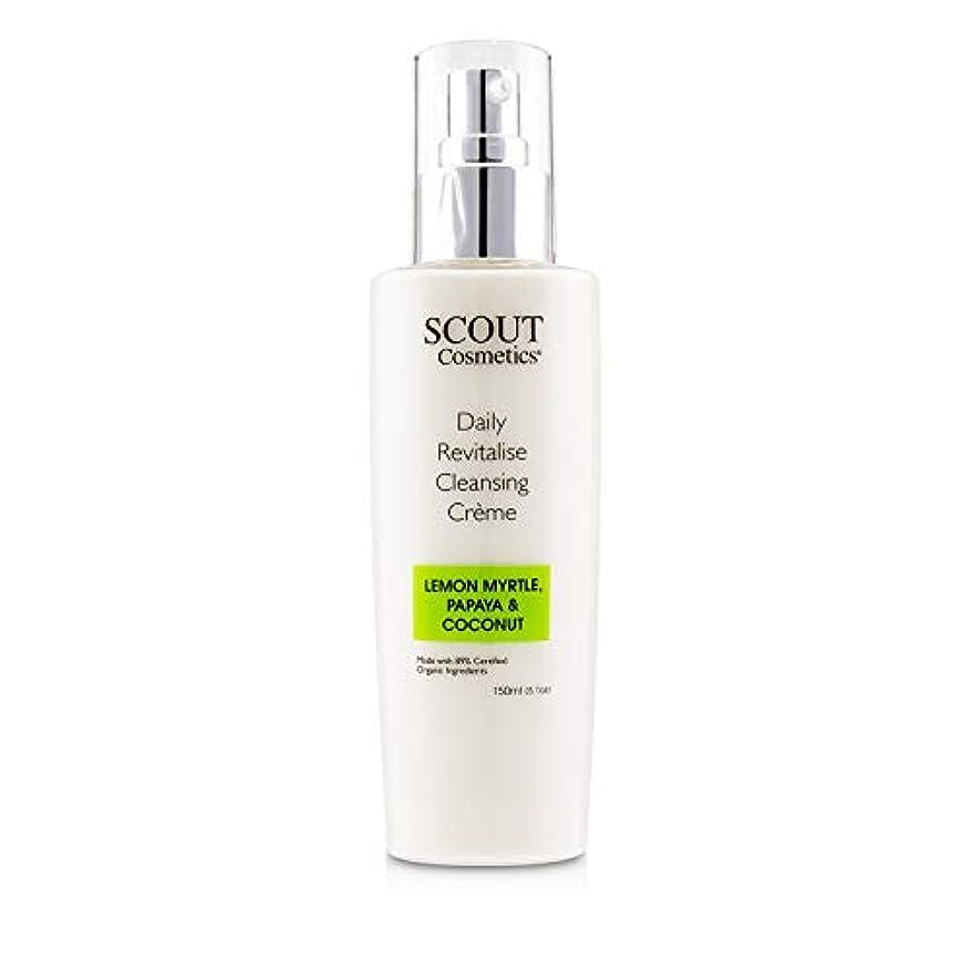 リスク物理的に微視的SCOUT Cosmetics Daily Revitalise Cleansing Creme with Lemon Myrtle, Papaya & Coconut 150ml/5.1oz並行輸入品