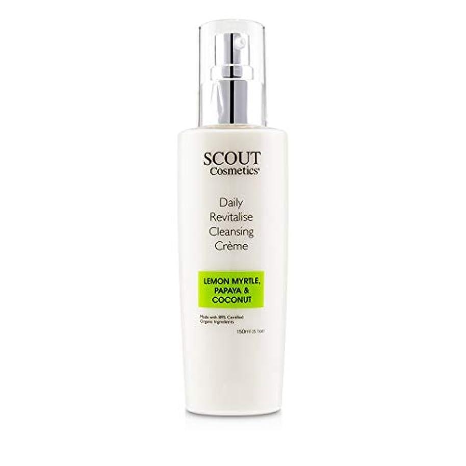 預言者百万ベットSCOUT Cosmetics Daily Revitalise Cleansing Creme with Lemon Myrtle, Papaya & Coconut 150ml/5.1oz並行輸入品