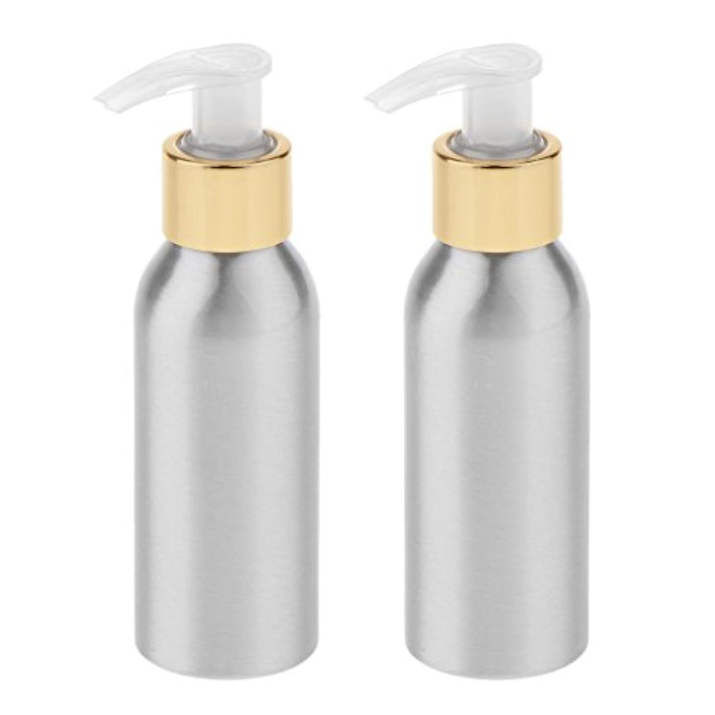 雄弁な通り抜ける礼儀Blesiya 2本 スプレーボトル ポンプボトル アルミボトル 噴霧器 香水ボトル 通勤/旅行/出張 便利 6サイズ選択 - 120ml