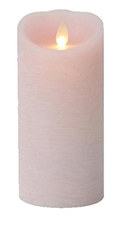 不安定なスパイラルすり癒しの香りが素敵な間接照明! LUMINARA ルミナラ ピラー3×6 ラスティク B0320-00-20 PK?ローズ