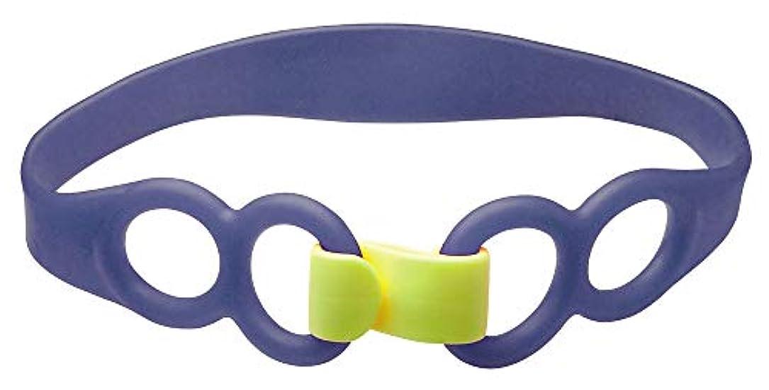 操る夜間ブロンズアルファックス ヒップストレッチバンド ハード(ブルー) 商品サイズ:長さ62×幅5?厚み1cm