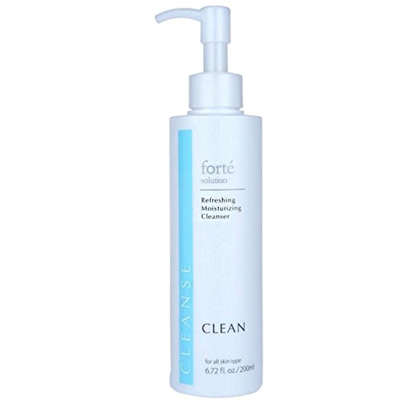 フェザー人形賢明なFORTE CLEAN Refreshing Moisturizing Cleanser 200ml/6.72oz並行輸入品