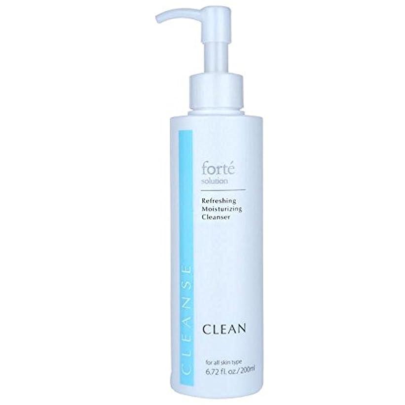 ハブ落ち着く画面FORTE CLEAN Refreshing Moisturizing Cleanser 200ml/6.72oz並行輸入品
