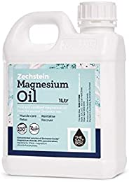 The Salt Box 100% Natural Zechstein Magnesium Oil 1L Value Pure Unrefined Magnesium Supplement - Australian Owned