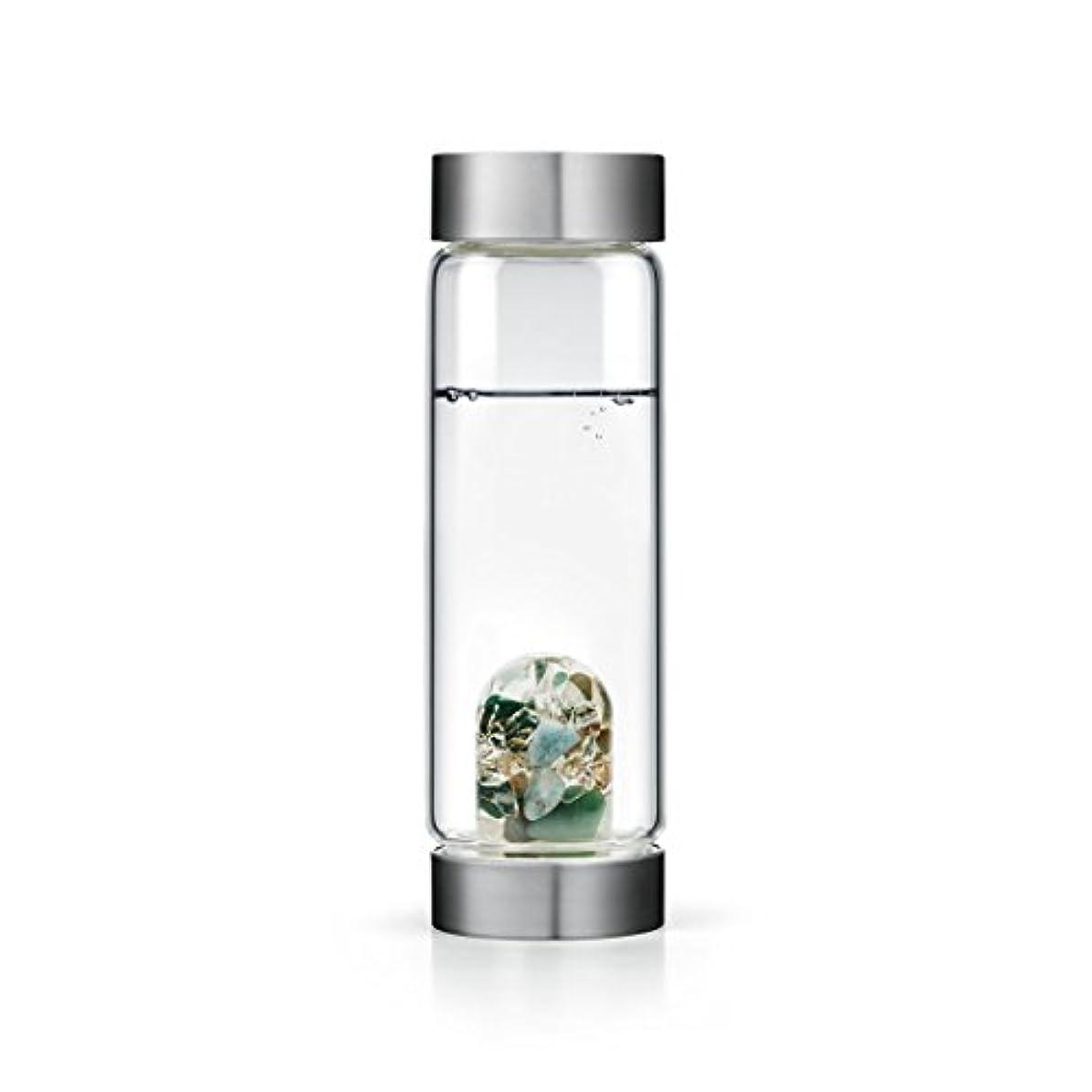 祖母ジュニア感嘆符Forever Young gem-waterボトルby VitaJuwel W / Freeカリフォルニアホワイトセージバンドル 16.9 fl oz