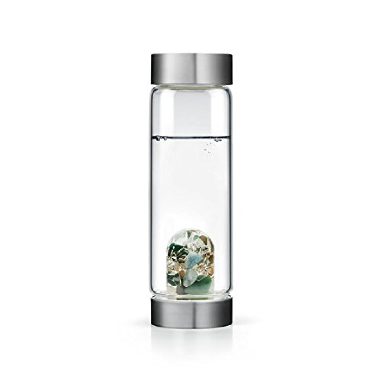 確立勇敢なおめでとうForever Young gem-waterボトルby VitaJuwel W / Freeカリフォルニアホワイトセージバンドル 16.9 fl oz
