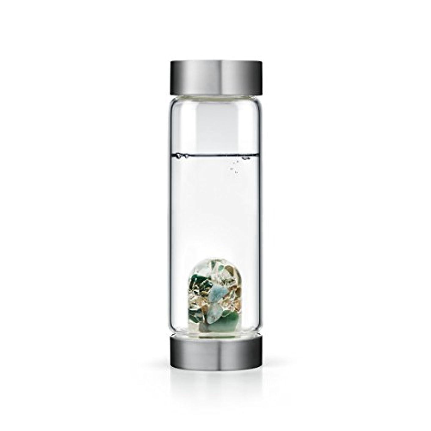 雪のフレームワークバクテリアForever Young gem-waterボトルby VitaJuwel W / Freeカリフォルニアホワイトセージバンドル 16.9 fl oz