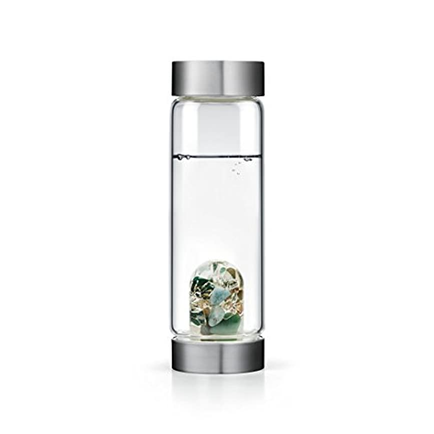Forever Young gem-waterボトルby VitaJuwel W / Freeカリフォルニアホワイトセージバンドル 16.9 fl oz