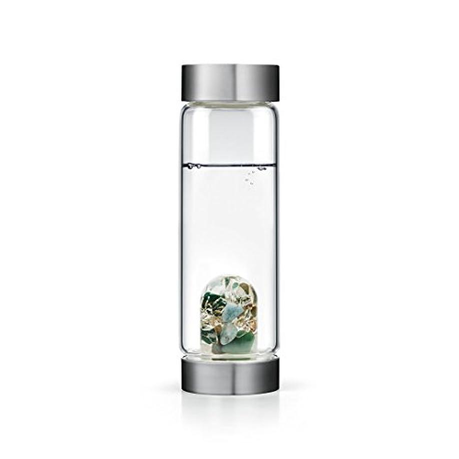 豆弱まるお祝いForever Young gem-waterボトルby VitaJuwel W / Freeカリフォルニアホワイトセージバンドル 16.9 fl oz