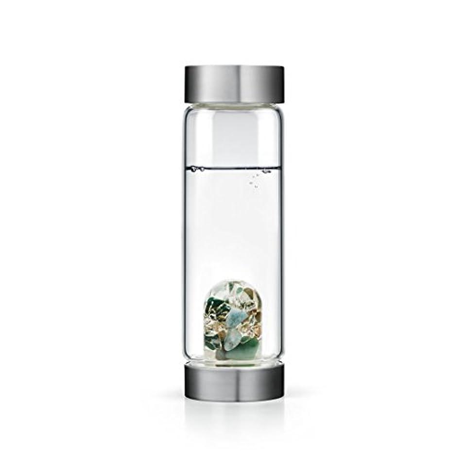 モットー精神医学マークされたForever Young gem-waterボトルby VitaJuwel W / Freeカリフォルニアホワイトセージバンドル 16.9 fl oz