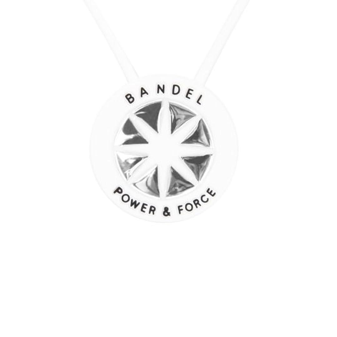 画像せがむ食欲NEW BANDEL necklace(バンデルネックレス) WhitexSilver (ショート?40cm)