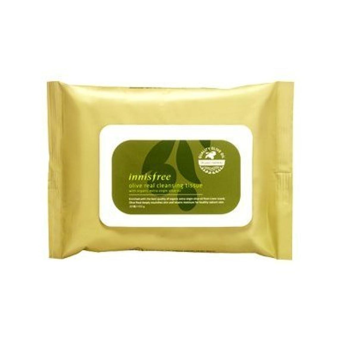 逮捕サスペンド尽きるInnisfree Olive Real Cleansing Tissue (30 sheets)