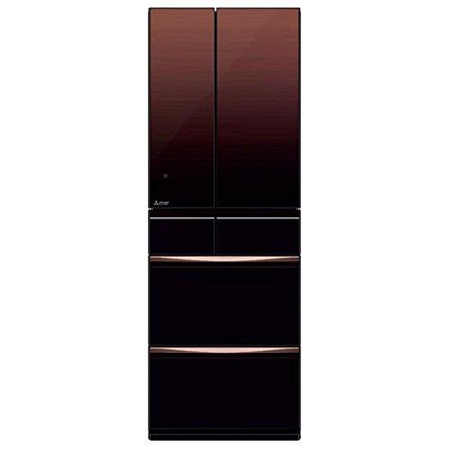 三菱 503L 6ドア冷蔵庫(グラデーションブラウン)MITS...