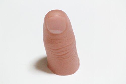 手品の道具 サムチップ 仮 指 マジック リアル 親指 爪 リアル (ミディアム、ソフト)