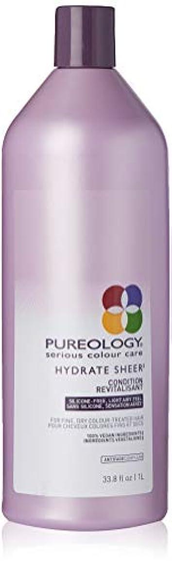 外交問題夫結論Pureology 水和物シアーコンディショナー 33.8 fl。オンス 0