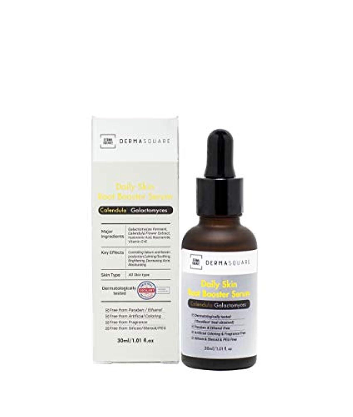 オフセットヒット操作[DERMASQUARE] デイリースキンルーツ ブースターセラム– 金盞花 ガラクトミセス フェイスアンプル - Daily Skin Root Booster Serum