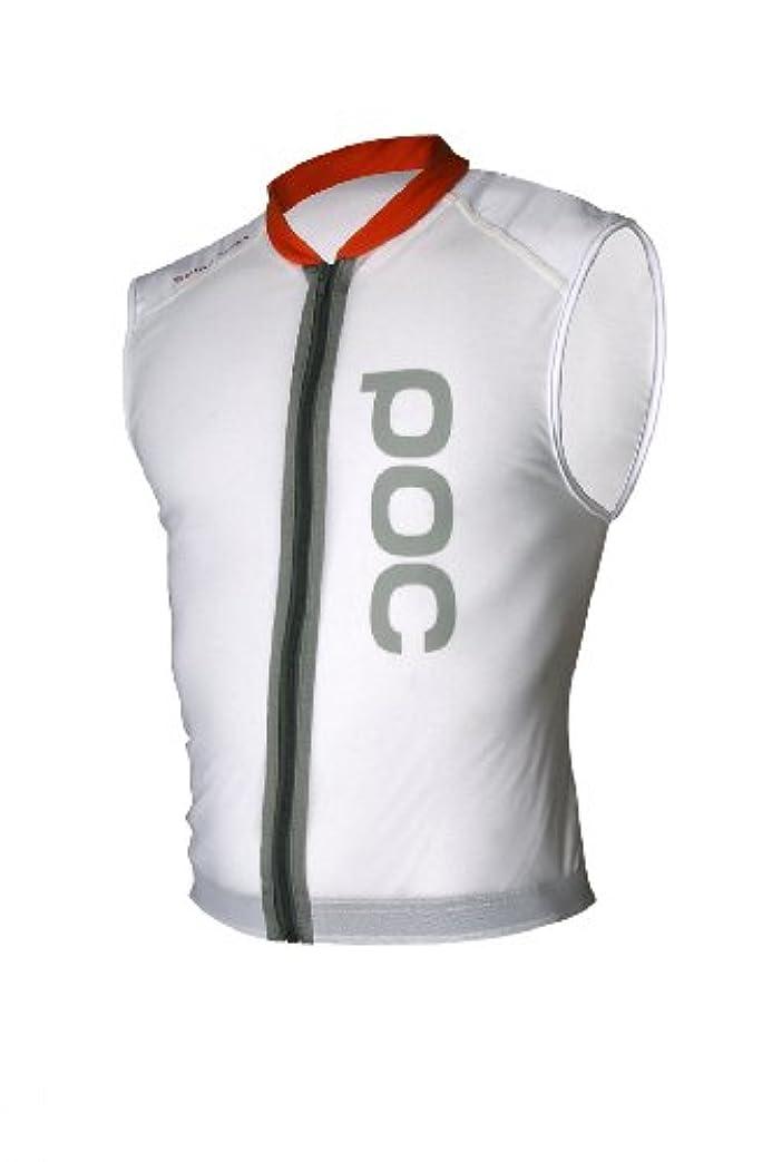 約束する漫画浪費POC Spine VPD Vest チェストプロテクター メンズ レギュラー ホワイト (サイズ: L-XL)
