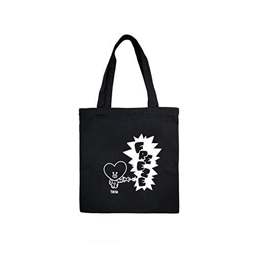 BTS バッグ 鞄 キャラクター 通勤 通学 おしゃれ ハンドバッグ 韓流グッズ 応援グッズ (TATA)