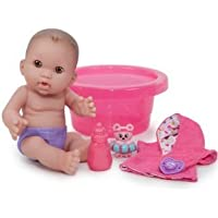 Designed by Berenguer Baby Steps Nursery Doll with Bath Set ドール 人形 フィギュア(並行輸入)