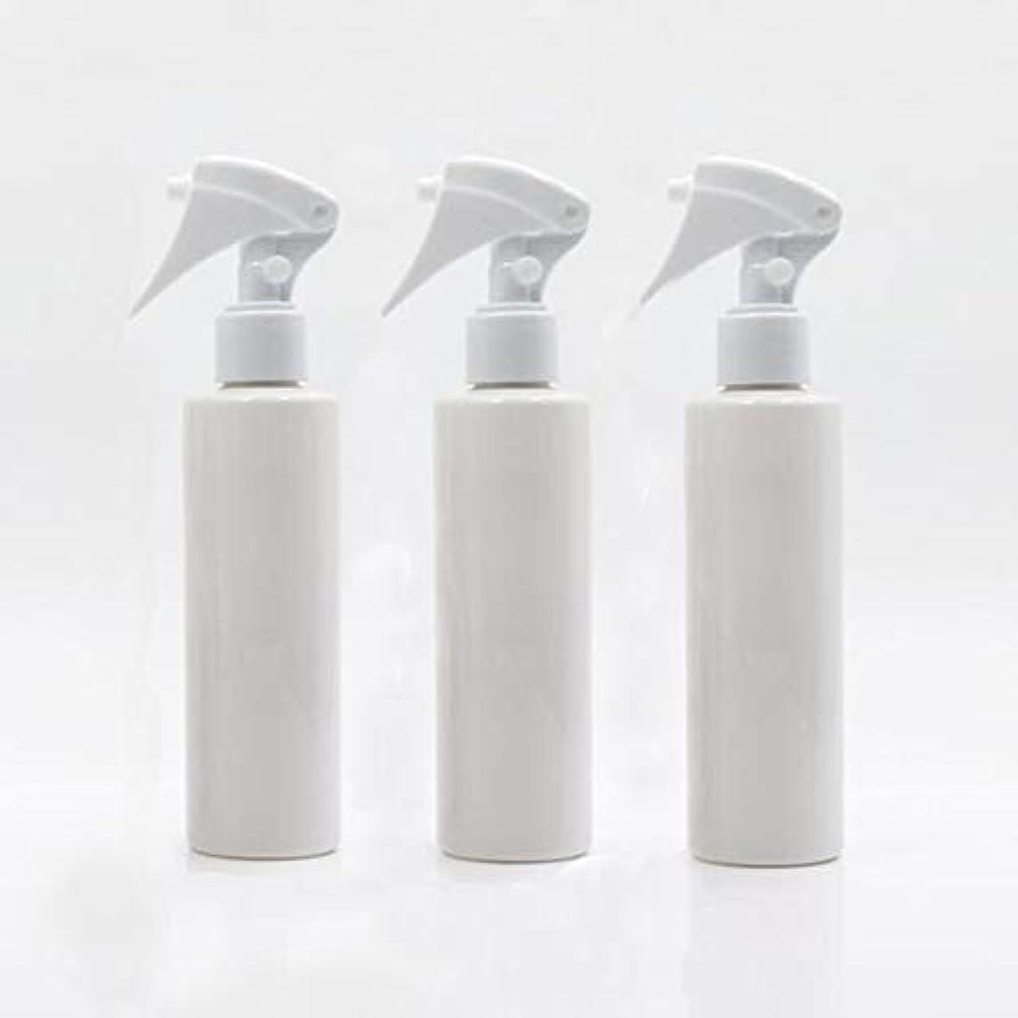 ランデブー個人的な抑制するHomewineasy 極細のミストを噴霧する スプレーボトル 詰め替え容器 200ml 3本セット (ホワイト)