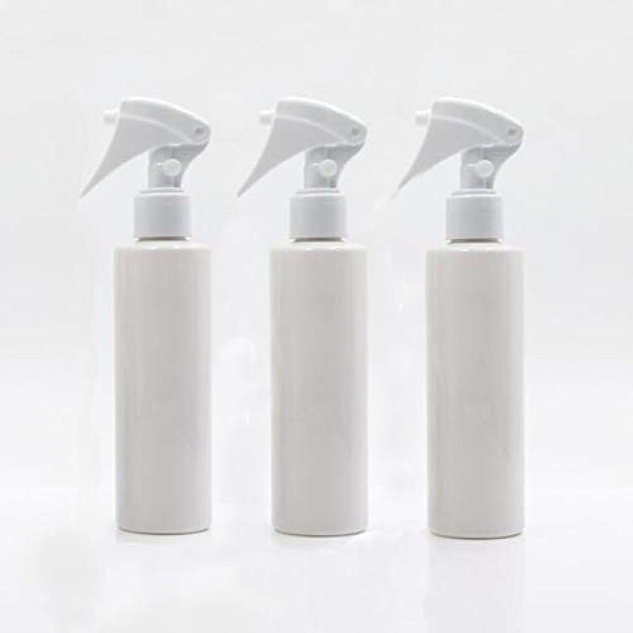 運賃本部シェアHomewineasy 極細のミストを噴霧する スプレーボトル 詰め替え容器 200ml 3本セット (ホワイト)