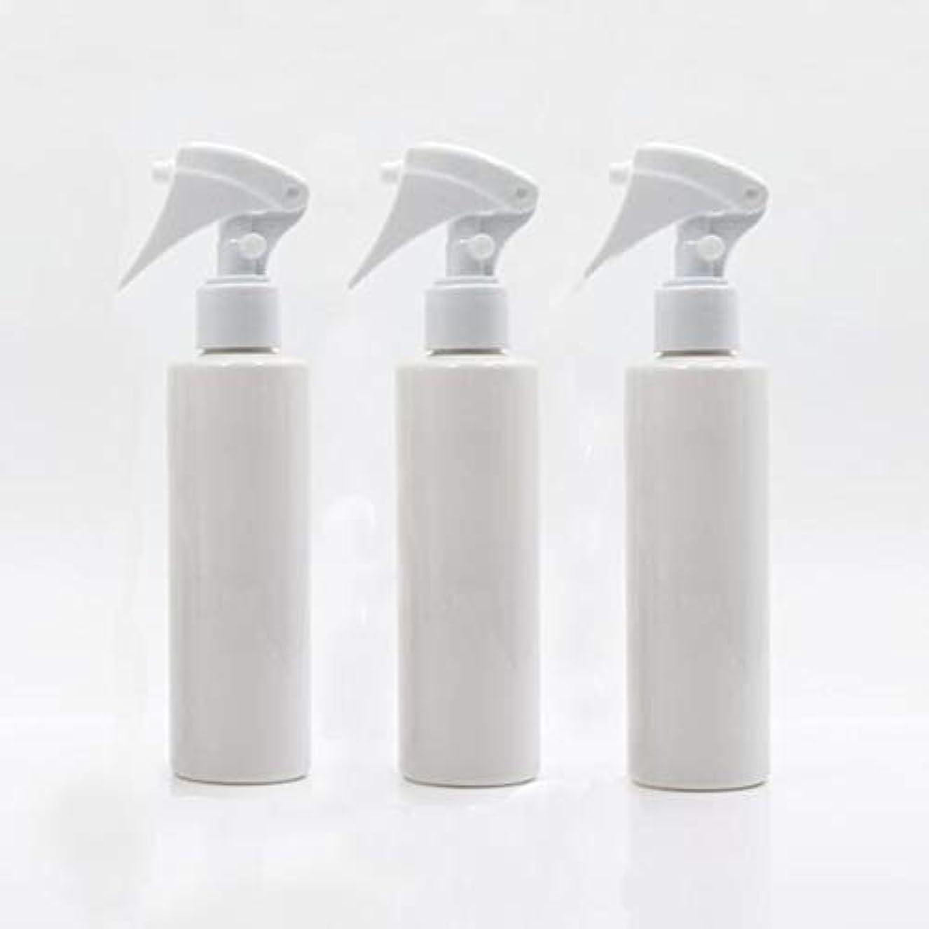 専門知識原因集めるHomewineasy 極細のミストを噴霧する スプレーボトル 詰め替え容器 200ml 3本セット (ホワイト)