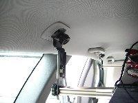 車内キャリア 【CAPキット】前・後ろバー共にカーゴネットフォルダーで取り付ける4ヶ所組み合わせ
