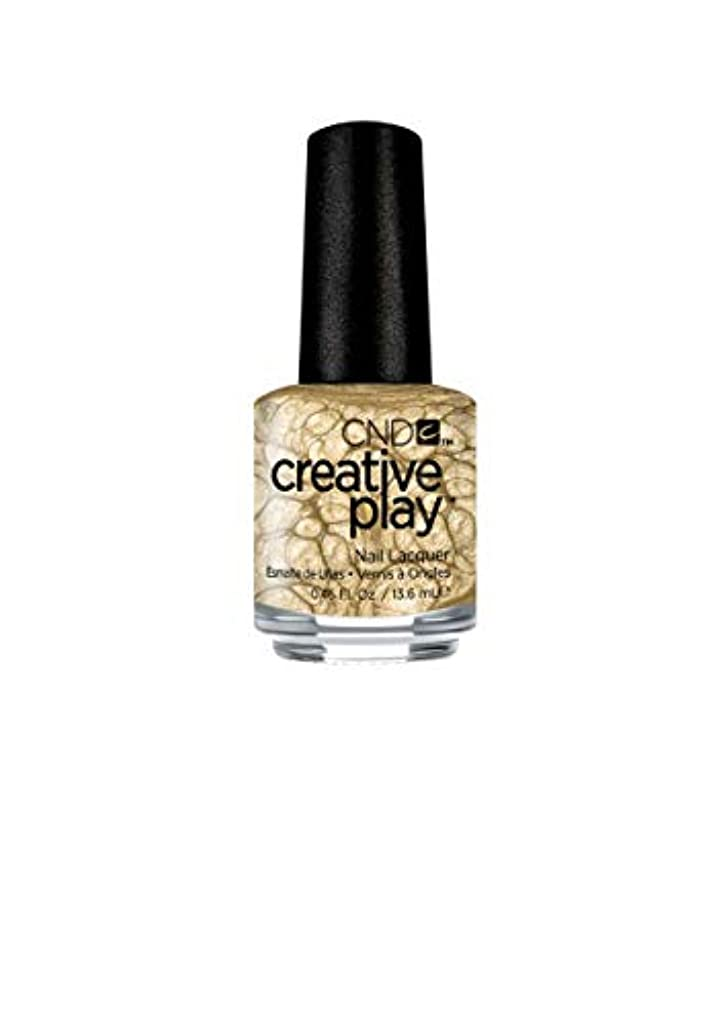 いつ陰謀急勾配のCND Creative Play Lacquer - Poppin Bubbly - 0.46oz / 13.6ml