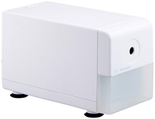 ナカバヤシ 電動鉛筆削りき スリムタイプ ホワイト DPS-211W