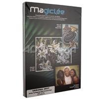 magiclee Verona、水彩Fineアートテクスチャマット、明るいホワイトインクジェット用紙、285gsm、8.5X 11インチ、50シート。