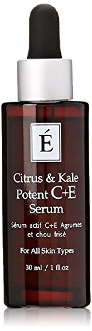 ファイル連合鼓舞するエミネンスシトラス&ケール強力なC + Eセラム1オンスフレッシュ   Eminence Citrus & Kale Potent C + E Serum 1 oz Fresh