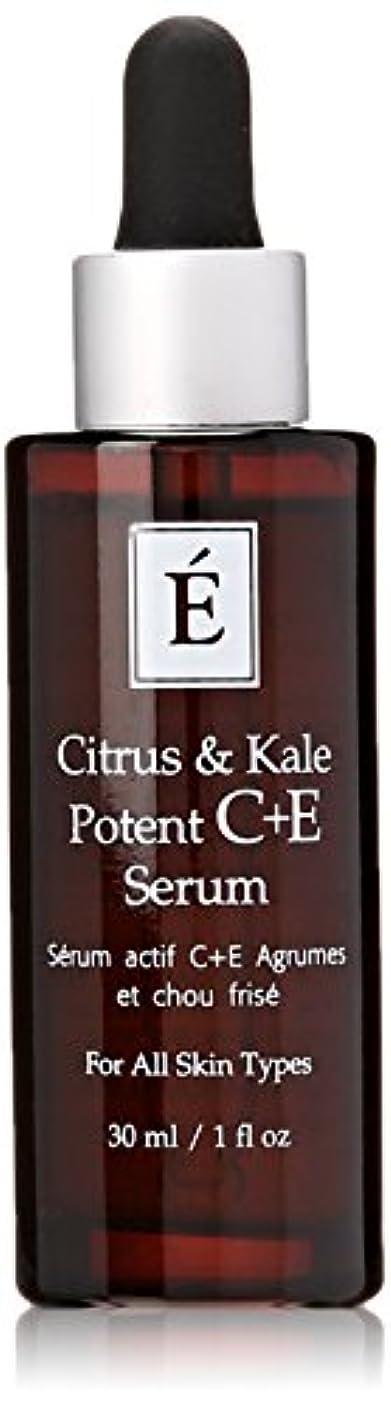 剣トランジスタ殉教者エミネンスシトラス&ケール強力なC + Eセラム1オンスフレッシュ | Eminence Citrus & Kale Potent C + E Serum 1 oz Fresh
