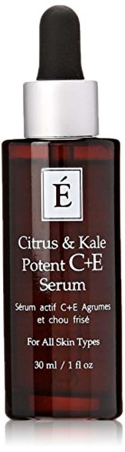冷蔵するダースつまずくエミネンスシトラス&ケール強力なC + Eセラム1オンスフレッシュ   Eminence Citrus & Kale Potent C + E Serum 1 oz Fresh
