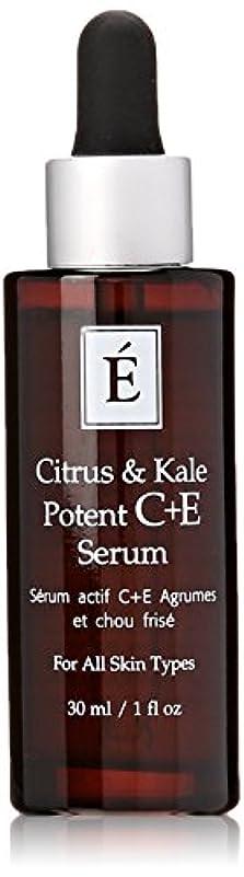 鍔葉を集める動力学エミネンスシトラス&ケール強力なC + Eセラム1オンスフレッシュ | Eminence Citrus & Kale Potent C + E Serum 1 oz Fresh