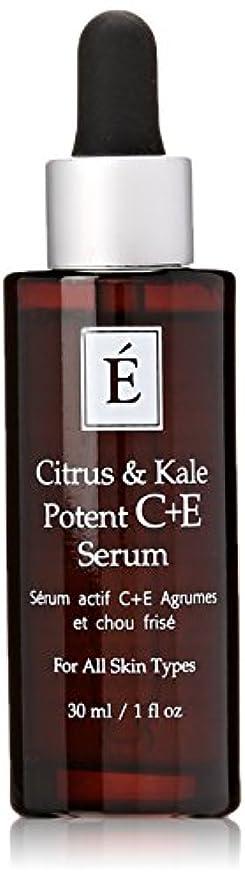 苦しみひもリクルートエミネンスシトラス&ケール強力なC + Eセラム1オンスフレッシュ | Eminence Citrus & Kale Potent C + E Serum 1 oz Fresh