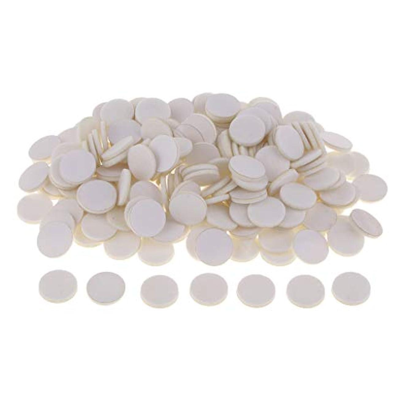 腹痛オーディション変換ディフューザーパッド アロマパッド パッド 精油 エッセンシャルオイル 香り 約200個入り 全11色 - 白