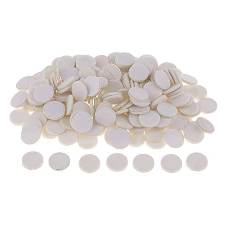 少しピアース依存するディフューザーパッド アロマパッド パッド 精油 エッセンシャルオイル 香り 約200個入り 全11色 - 白