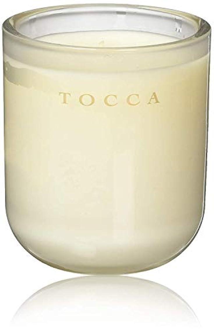 せがむ寄生虫数学TOCCA(トッカ) ボヤージュ キャンドル カプリ 287g (ろうそく 芳香 柑橘とメロンの魅惑なシトラスな香り)