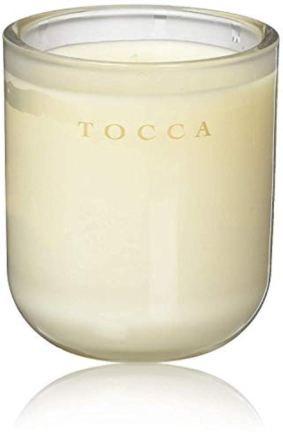 強調する印象派ギャンブルTOCCA(トッカ) ボヤージュ キャンドル カプリ 287g (ろうそく 芳香 柑橘とメロンの魅惑なシトラスな香り)